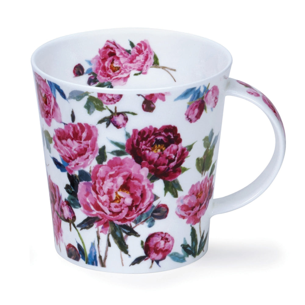 Dunoon Mugs - Cottage Blooms (Peonies) by Harrison Ripley