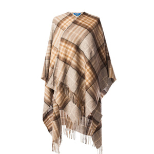 Lambswool Shawl - MacKellar Natural