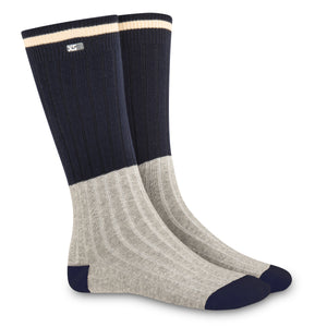 XS UNIFIED: Navy Cabin Socks