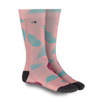 Load image into Gallery viewer, XS UNIFIED: Coral/Mint Feather Socks
