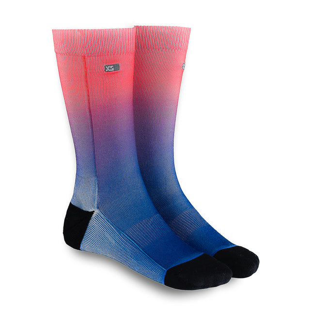 XS UNIFIED: Coral Ombré Socks