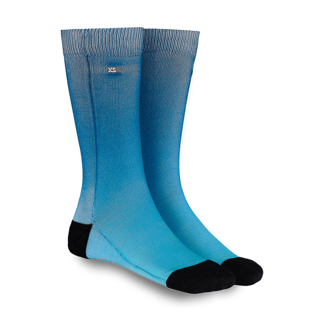 XS UNIFIED: Denim Ombré Socks