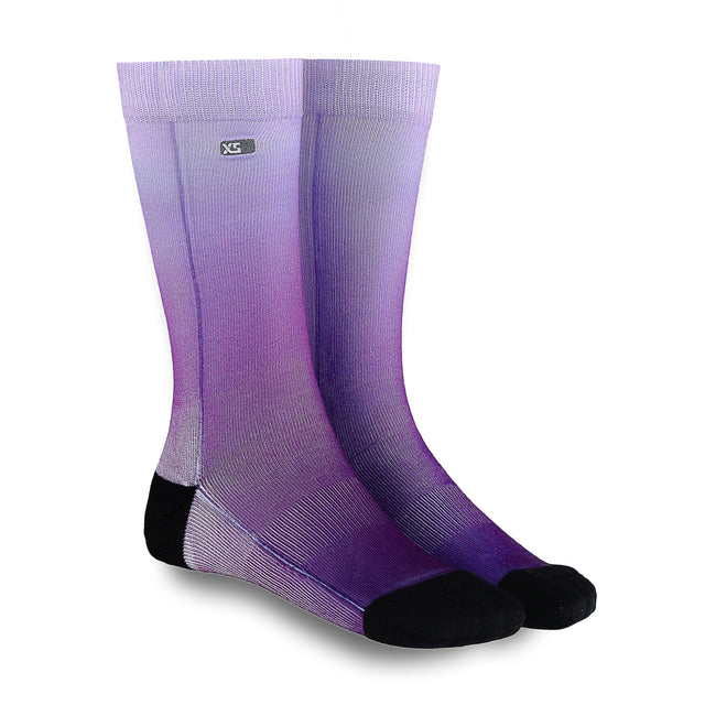 XS UNIFIED: Lilac Ombré Socks