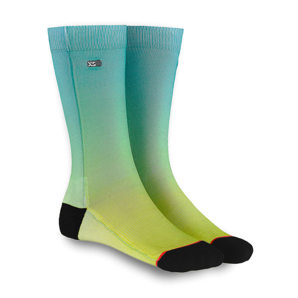 XS UNIFIED: Seagrass Ombré Socks