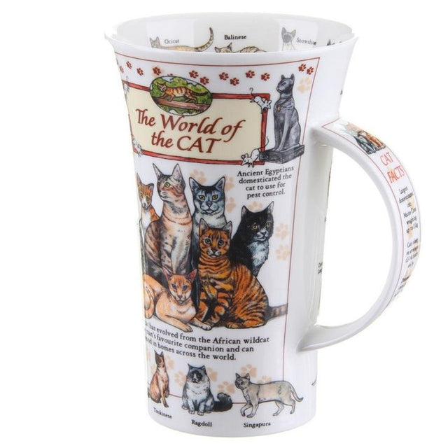 Buy Dunoon Mugs in Canada Glencoe The World of the Cat Fine Bone China Made in England Tea Coffee Red Scarf Equestrian