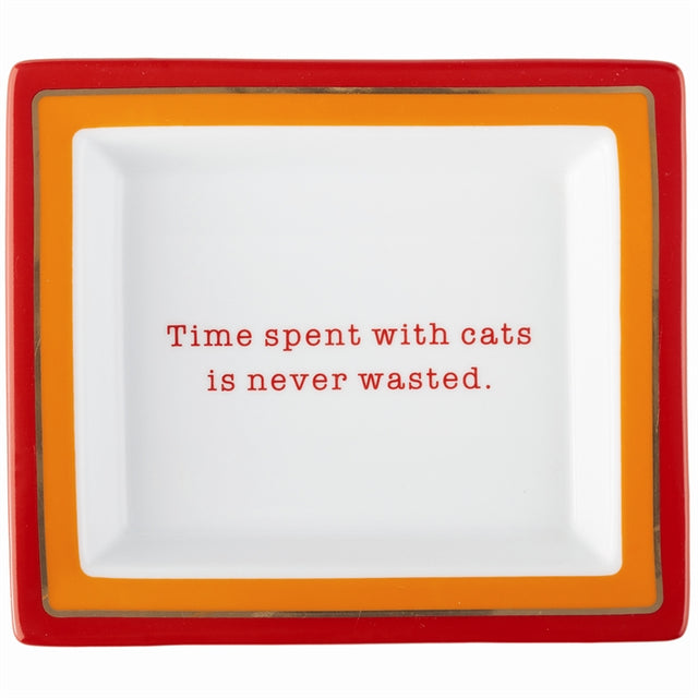 "Wise Sayings: Cat ""Time with Cats..."""