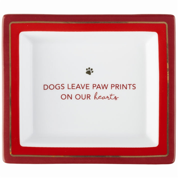 "Wise Sayings: Dog ""Paw prints on our Hearts..."""