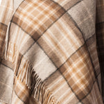 Load image into Gallery viewer, Lambswool Shawl - MacKellar Natural