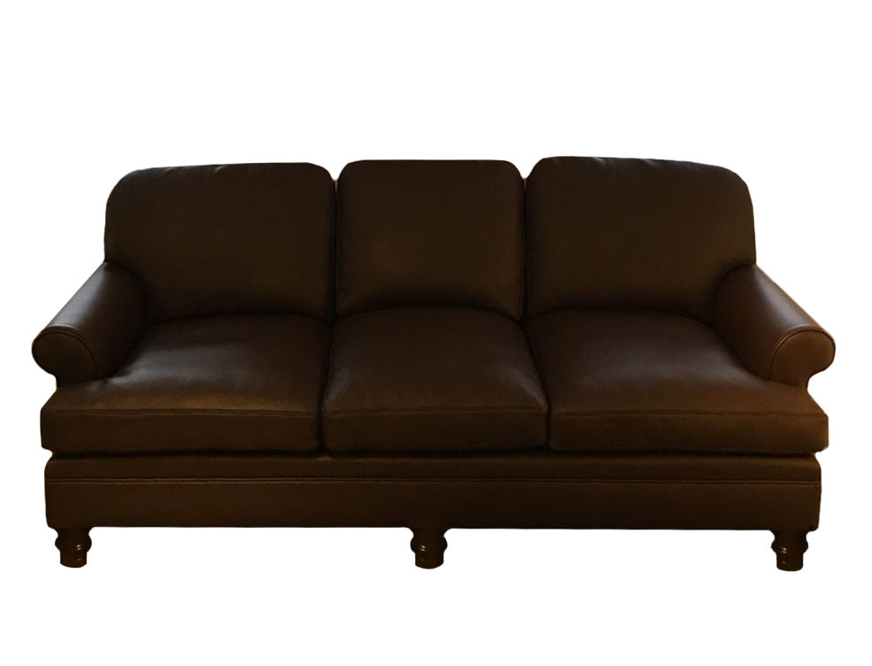 The Andalusian: Leather Sofa