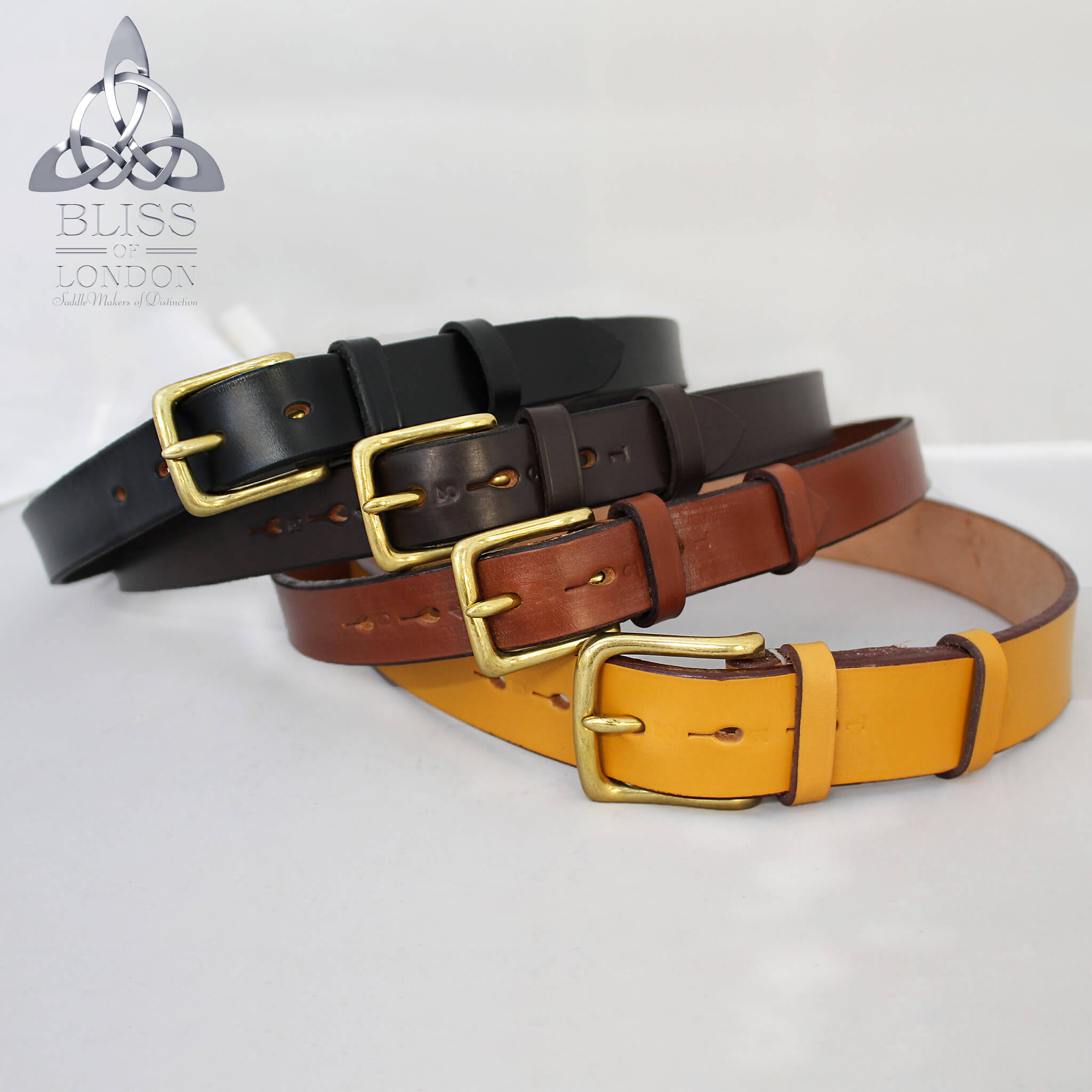 Signature Leather Belt