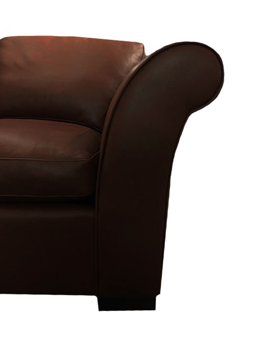 The Oldenburg: Leather Chair
