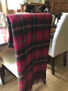 Canadian Maple Lamb's Wool Blanket