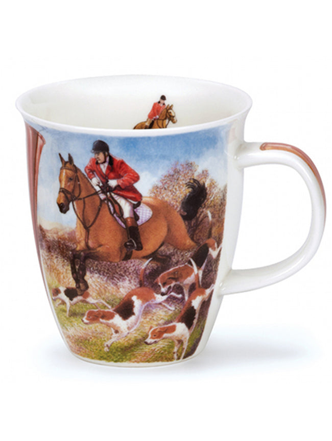 Dunoon Fine Bone China Mugs:  Country Sports Hunting