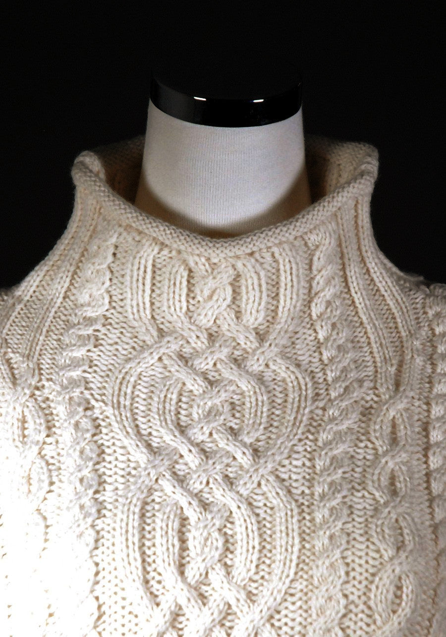 Womens: Merino Wool Funnel Neck Sweater