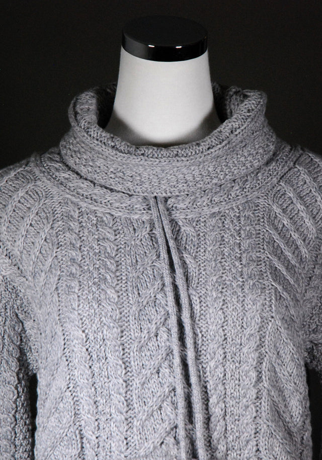 Womens: Merino Wool Cowl Neck Sweater