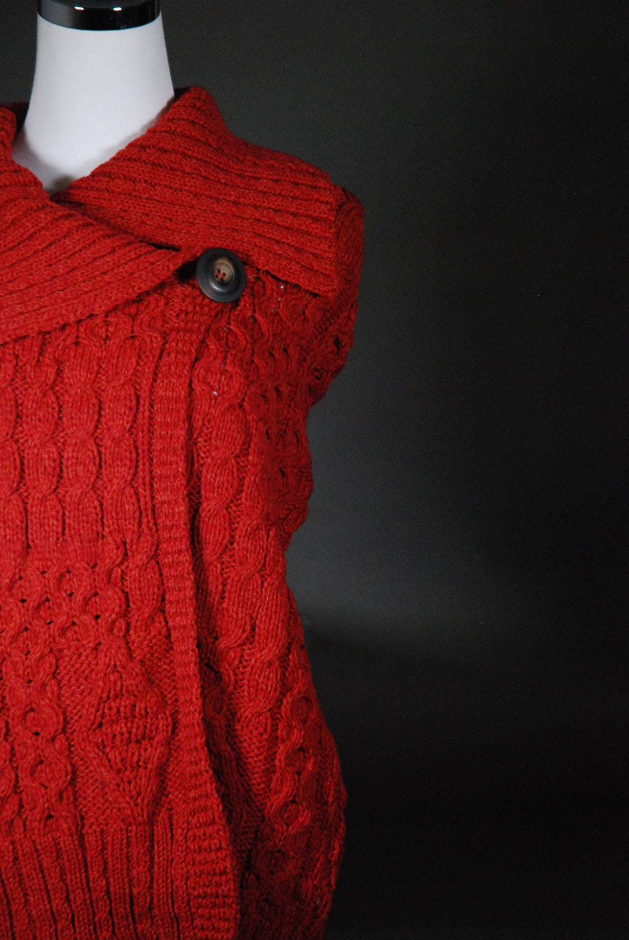 Women's: Merino Wool One Button Cardigan