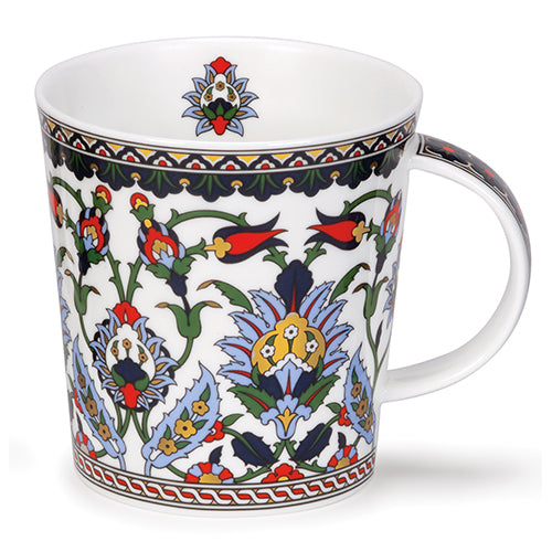 Buy Dunoon Mugs in Canada: Lomond Dubai Pale Blue - Red Scarf Equestrian