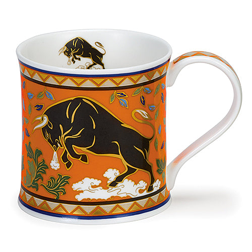 Buy Dunoon Mugs in Canada: Wessex Arabia Bull - Red Scarf Equestrian