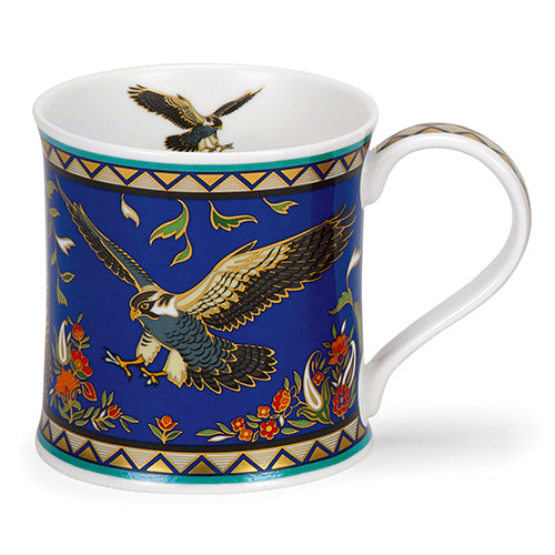 Buy Dunoon Mugs in Canada Wessex Arabia Eagle Falcon Fine Bone China Red Scarf Equestrian