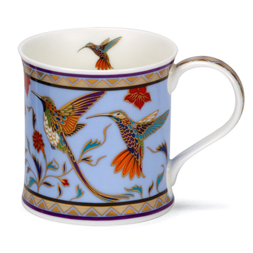 Buy Dunoon Mugs in Canada Wessex Minerva Hummingbird Fine Bone China Red Scarf Equestrian