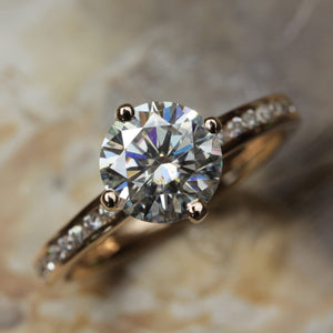 Kerry Round Diamond Ring by Ethica Diamonds