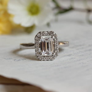 Rose Diamond Ring by Ethica Diamonds