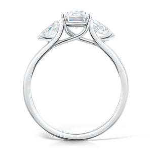 Willow Diamond Ring by Ethica Diamonds