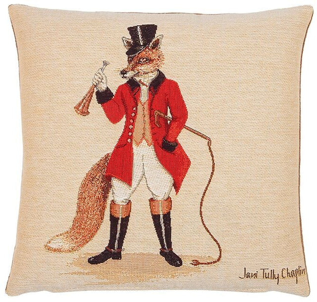 Freddie Fox Tapestry Cushion – Small