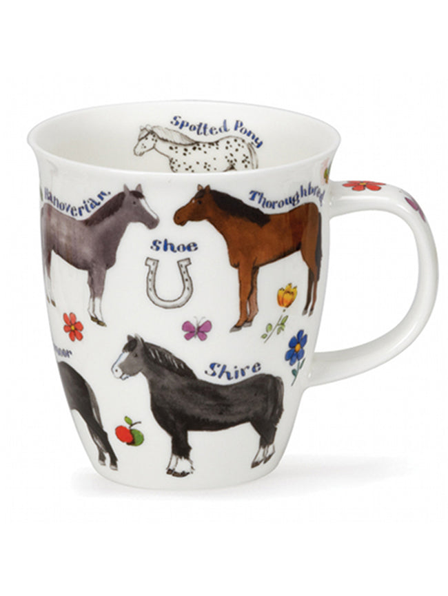Dunoon Fine Bone China Mugs:  Farm Breeds