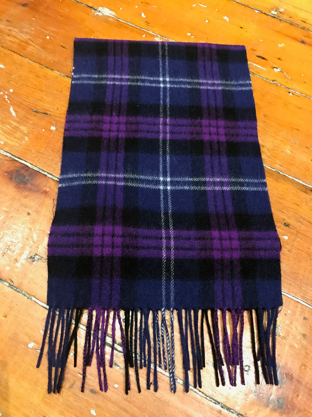 Tartan Lambswool Winter Scarf for Women Heritage of Scotland Buy in Canada at Red Scarf Equestrian
