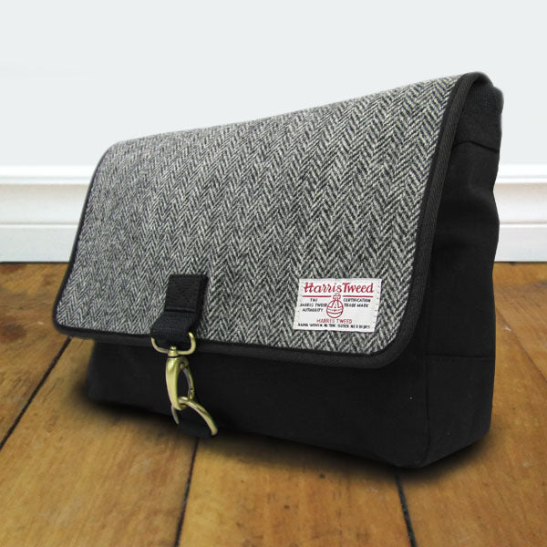 Tweed Shoulder Messenger Bag