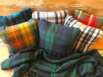 Load image into Gallery viewer, Scottish Tartan Wool Pillows for your home interior design and decor. Buy online at Red Scarf Equestrian Canada