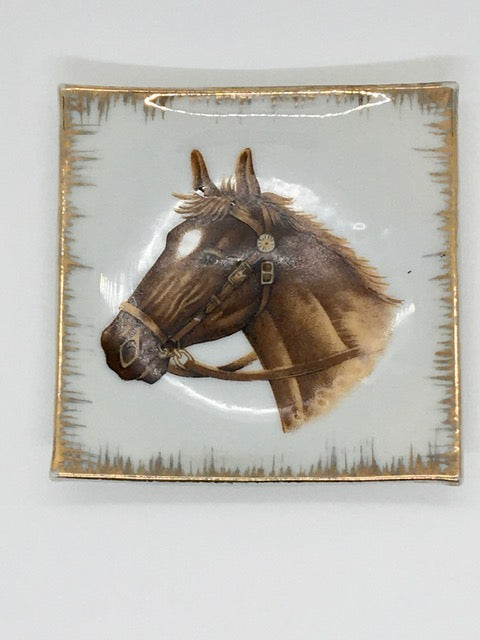 Horse's Head Antique Wall Hanging