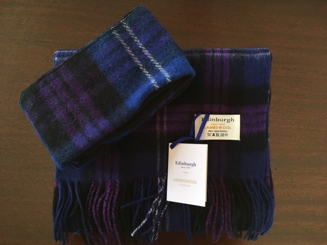 Tartan Lambswool Scarf and Boot Cuff Set - Heritage of Scotland