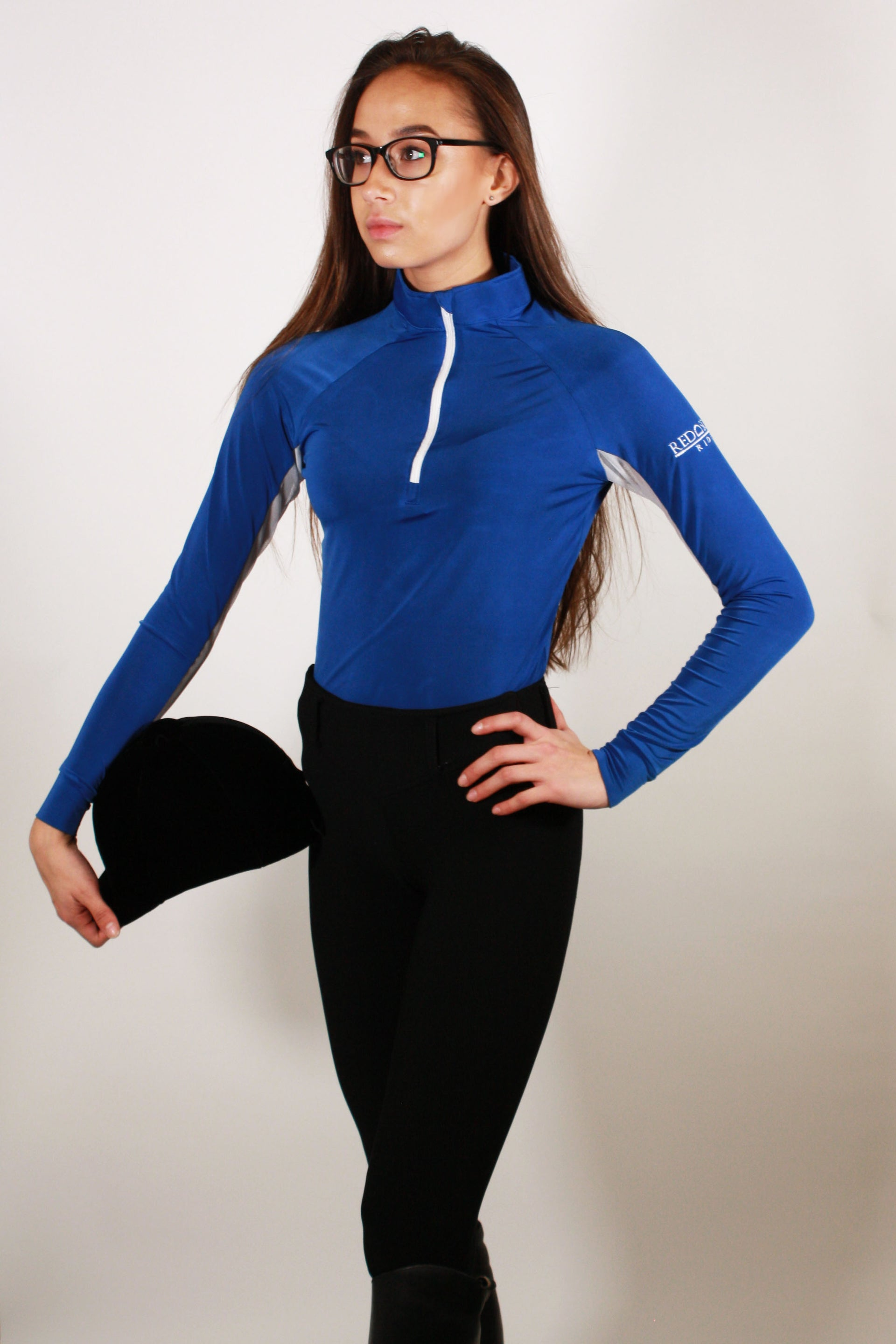 Technical Base Layer: Royal Blue/White