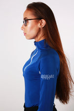 Load image into Gallery viewer, Technical Base Layer: Royal Blue/White