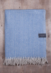 Recycled Wool Blanket in Various Patterns and Colours