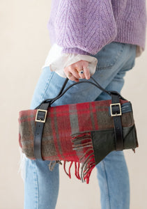Leather Picnic Carrying Strap