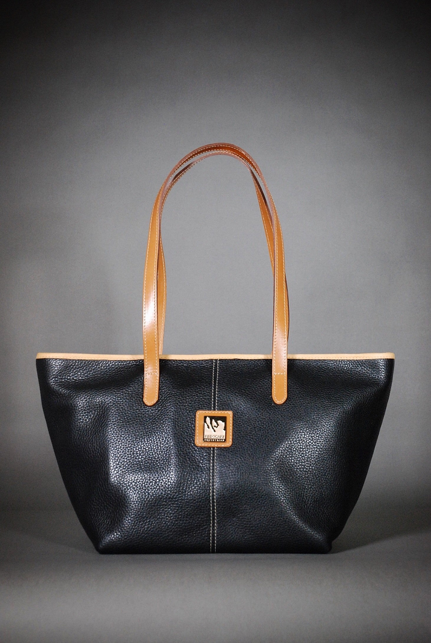HAND BAG KATE - BLACK/TAN