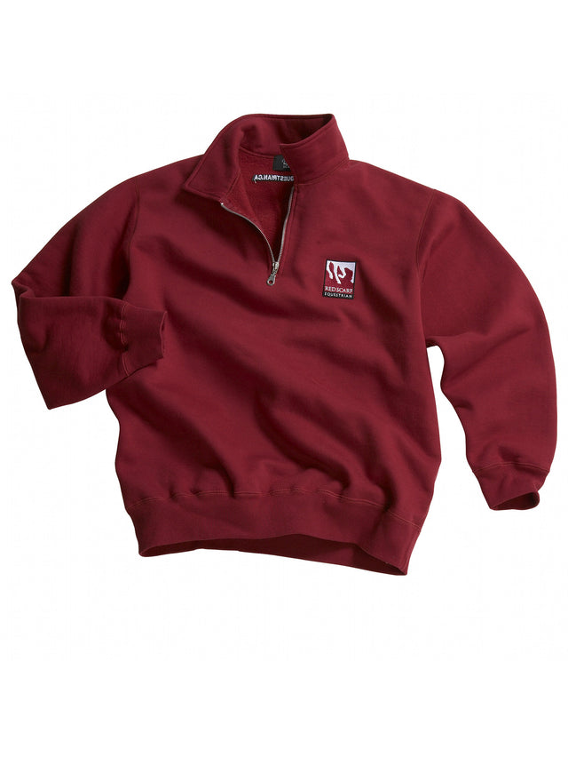 Zip Polo Sweatshirt