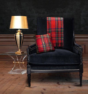 Scottish Tartan Wool Pillows for your home interior design and decor. Buy online at Red Scarf Equestrian Canada