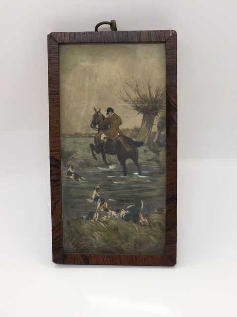 Antique Miniature Painting  (Title Unknown)