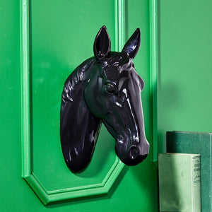 Black Stallion Horse Wall Decor