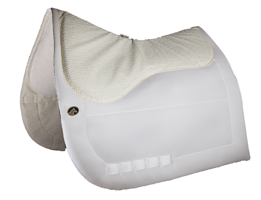 CALMATECH™ DRESSAGE SADDLE PAD  by Ecogold