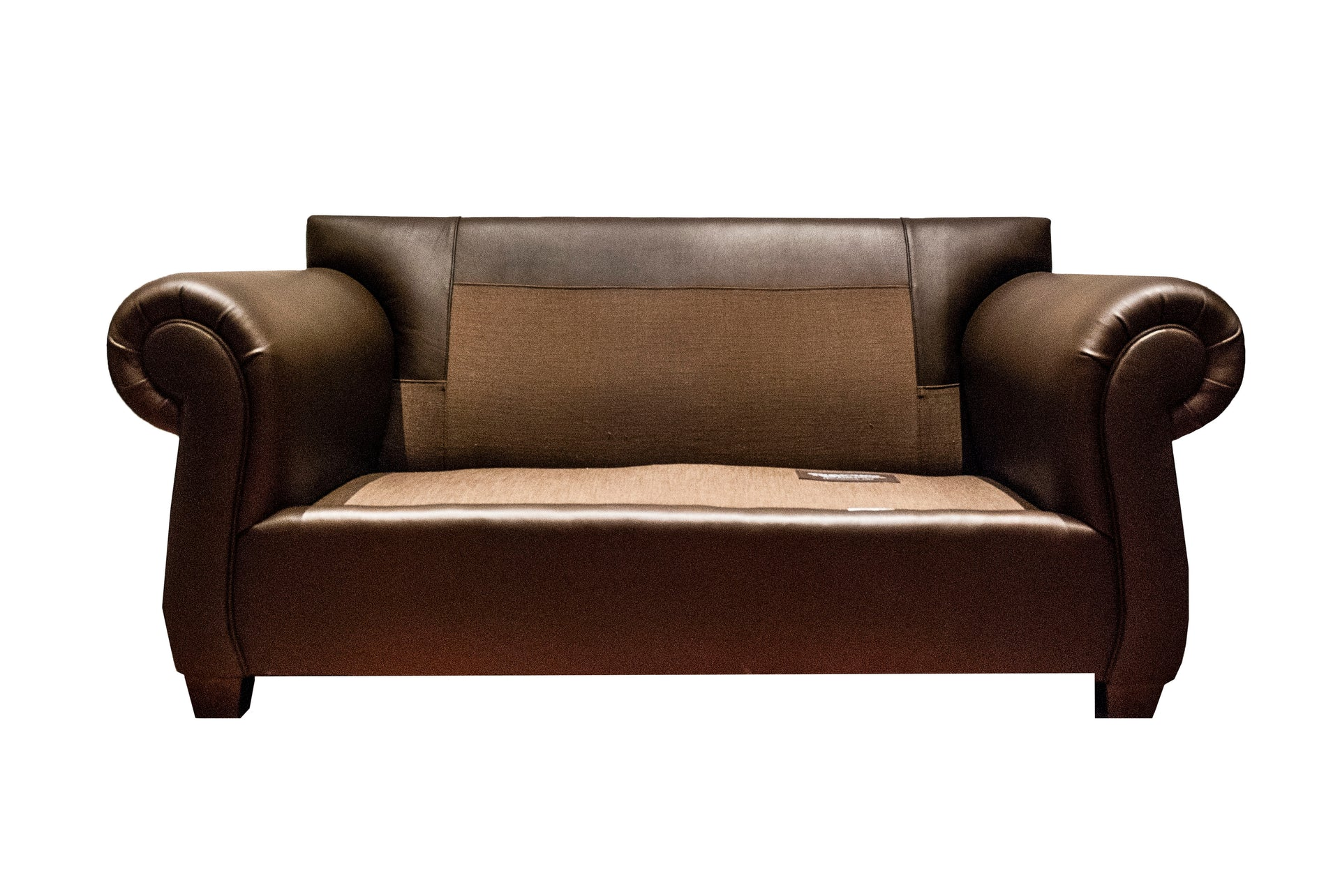 The Clydesdale: Leather Loveseat