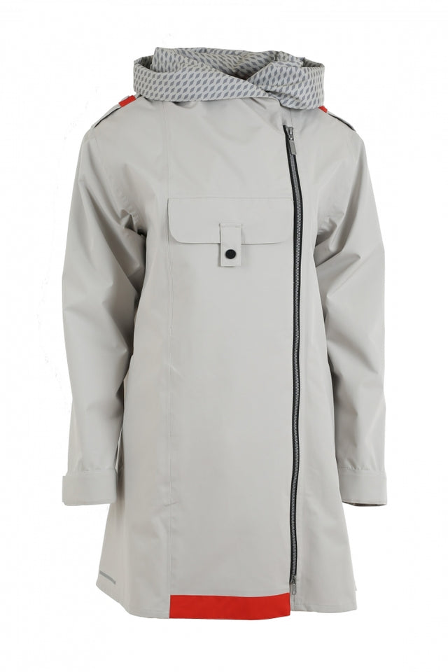 Blaest Rainwear:  LONDON Off-Grey