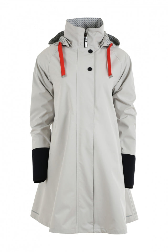Blaest Rainwear:  FIRENZE Off-Grey