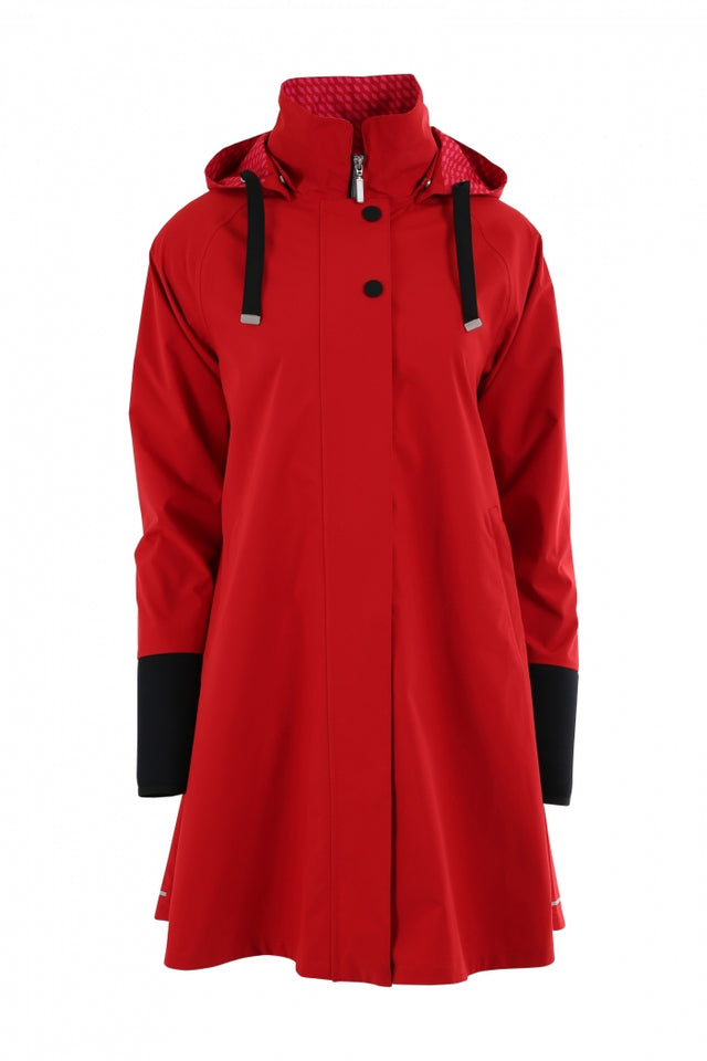 Blaest Rainwear:  FIRENZE Red