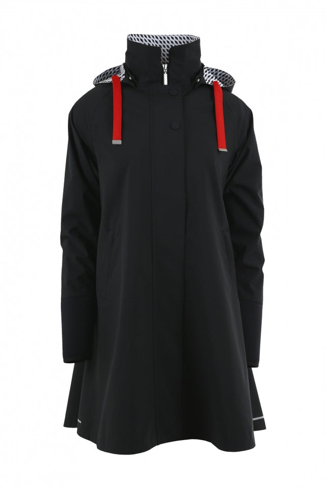 Blaest Rainwear:  FIRENZE Black