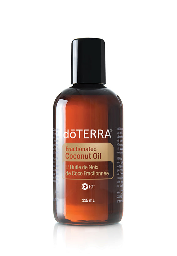 dōTERRA Fractionated Coconut Oil: Soothes skin